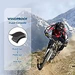 Unigear Balaclava Cagoule, Cache-Cou, Masque Tour de Cou Coupe-Vent Anti Froid pour Ski Moto Vélo Cyclisme Escalade… 8