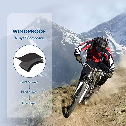 Unigear Balaclava Cagoule, Cache-Cou, Masque Tour de Cou Coupe-Vent Anti Froid pour Ski Moto Vélo Cyclisme Escalade… 3