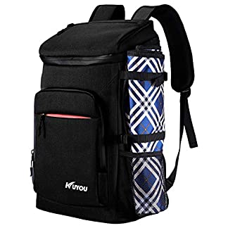 Cooler Backpack,35L Leakproof Insulated Ice Backpack with Picnic Mat Lightweight Picnic Backpack Reusable Backpack… 6