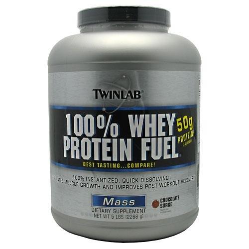 Twinlab 100% Whey Protein Fuel, Chocolate Surge, 5 Pound