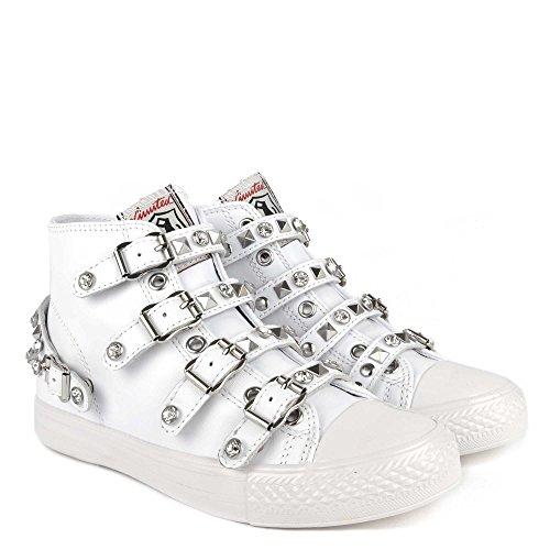 Cenere Scarpe Victoria Sneaker Donna In Pelle Da Donna Femminile