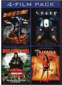 Horror 4 Film Pack (Drive Thru / Creep / Boy Eats Girl / Tamara)