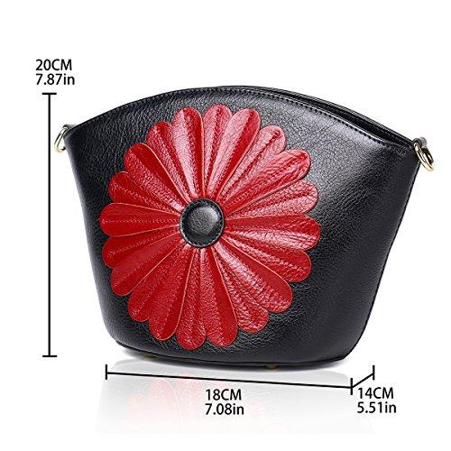 Purses Bag Designer Womens Tote Satchel Bags black and Ladies Handbags Shoulder 69000135 5 APHISON 5FXw8