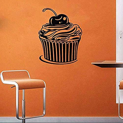 ElegantDecal Muffins -Cupcakes -Cake - Sweets - Cafe - Dessert - Waffle -Fast Food -Food -Pastry - Wall Decal Window Sticker ad 2201 ()