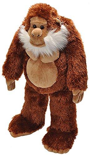 Wild Republic Big Foot Stuffed Animal, Plush Toy, Gifts for Kids, 12