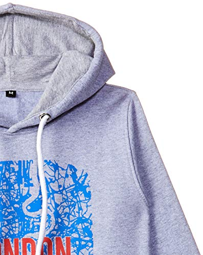 T2F Boys' Chest Printed Hooded Sweatshirt Discounts Junction