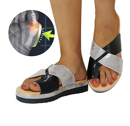 Corrector De Juanetes Nuevos Zapatos De Viaje De Playa para El Verano Sandalias De Plataforma De
