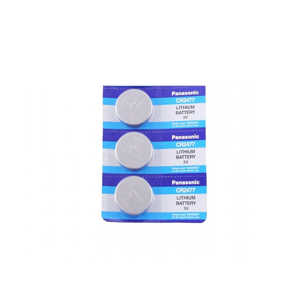 Panasonic CR2477 3V Lithium Cell Battery (Pack of 3)