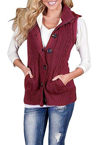 Women Sweater Vest - 4