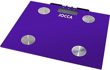 Jocca 7148M - Bascula para medir la grasa, color morado
