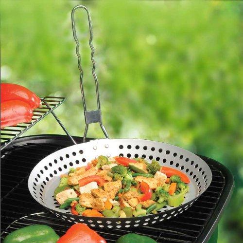 Grill Top Pan - BBQ Saute Skillet