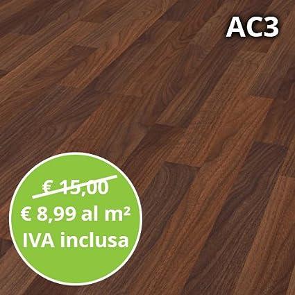 Pavimento In Laminato Noce Astoria Confezione Da 2 47 Mq Ac3