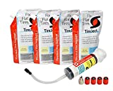 TireJect Off-Road Flat Tire Protection Kit with Sealant Injector (80oz Large Compact Tractor Kit)