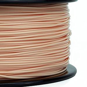Gizmo Dorks 3 mm ABS Filament, 1 kg for 3D Printers, Natural Beige