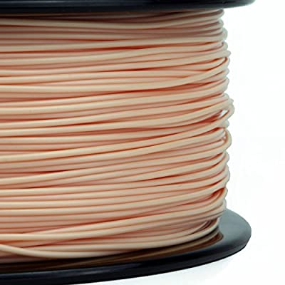 Gizmo Dorks 3 mm ABS Filament, 1 kg for 3D Printers, Natural Beige