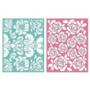 We R Memory Keepers - Set de troqueles (2 unidades), diseño floral