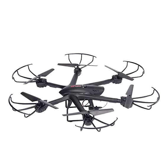 Amazon Com Mjx X601h Wifi Hexacopter Fpv 0 3mp Camera Drone App