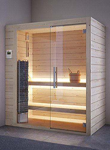 grandform Sauna Finlandés Estufa Eléctrica 3 plazas seduti, o 1 Tumbado.Tower Pro 1812 (cm). 180 x 120 x 208 H.): Amazon.es: Hogar