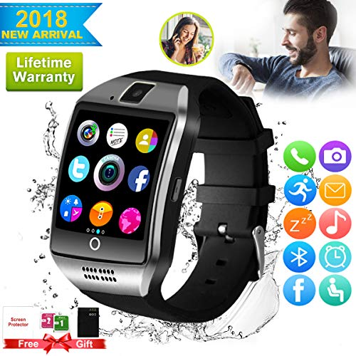 Smart watch,smart watches for android 2018 bluetooth smart watch Touchscreen with Camera, android smartwatch Smart Wrist Watch Cell Phone with Sim Card Slot Compatible IOS Android for Men Woman Yout