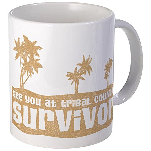 Mug Coffee Survivor - CafePress See You At Tribal Council Mug Unique Coffee Mug, Coffee Cup