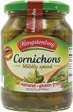 Hengstenberg Cornichons Jar, 12.5-Ounce Jars (Pack of 12)