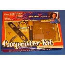 Tim Allen Signed Home Improvement Carpenter Kit PSA/DNA COA Tool Time