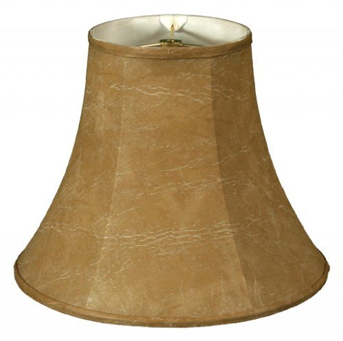 Royal Designs True Bell Lamp Shade, Mouton, 3.5 x 6 x 6.25, Flame (6mt 6 Light)