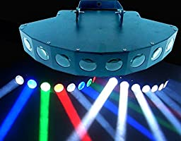 MADOWL 8x3w RGBW LED Sector Beam Light, Use For Disco, Ballroom, KTV, Bar ,Club, Party, Wedding