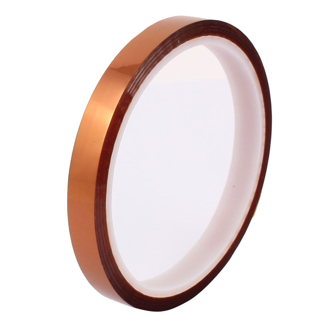 sourcingmap/® 10mm Largeur 30M Longueur Ruban en polyimide r/ésistant chaleur haute temp/érature