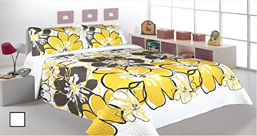 3 Pieces Printed Bedspread/ Coverlet Sets/ Quilt Sets