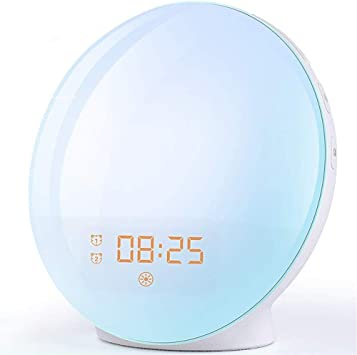 Wake Up Light Despertador Luz - LED Despertador Amanecer