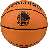 Spalding NBA Golden State Warriors Team Logo Composite Leather Basketball
