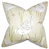 The Pillow Collection Sand Agapi Animal Print Bedding Sham, King/20'' x 36''
