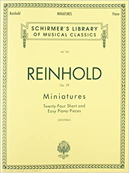 Book Miniatures, Op. 39: Piano Solo (1987-04-01)