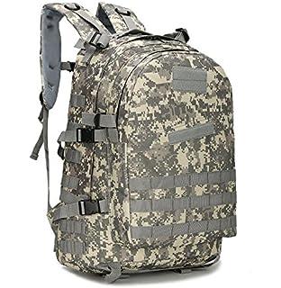 BIBU 50L Military Tactical Backpack Large 3 Day Assault Pack Rucksacks Molle Bug Out Bag for