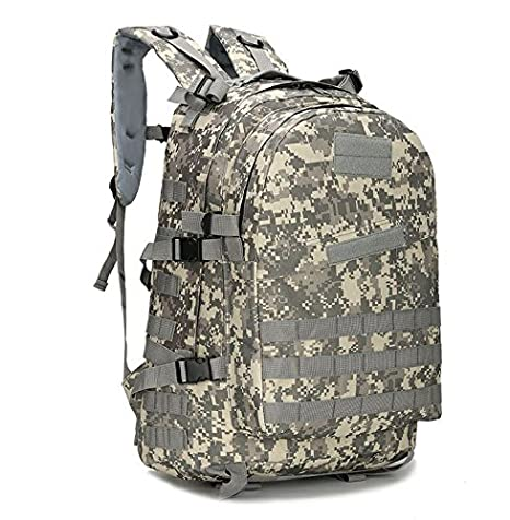 BIBU 50L Military Tactical Backpack Large 3 Day Assault Pack Rucksacks Molle Bug Out Bag for