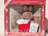 CHRISTMAS WITH PETER RABBIT Book and Toy Box (1991) by F. WARNE AND CO. ~THE WORLD OF BEATRIX POTTER~