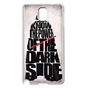 Samsung Galaxy Note 3 Cell Phone Case White_Darth Vader Power Of The Darkside TR2222061