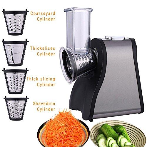 Why Should You Buy Professional 200W Electric Automatic Salad Maker-Slicer Shredder-Food Slicer with...