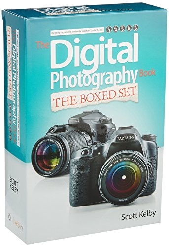 Scott Kelby's Digital Photography Boxed Set, Parts 1, 2, 3, 4, and 5 (Best Photoshop For Home Use)