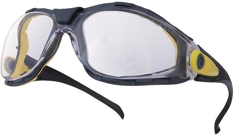 /Lunette protection Pacaya Clear Polycarbonate Incolore Bleu//gris Delta Plus/
