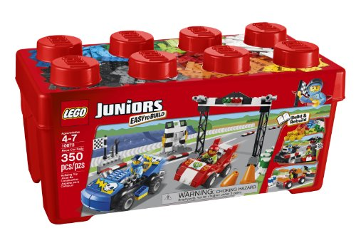 LEGO Juniors 10673 Race Car Rally (Lego Junior Bricks)