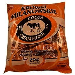 Krowki Milanowskie Cocoa Cream Fudge, 300g (Pack of 3)