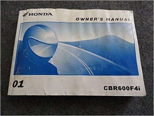 Owners manual cbr 600 f4i generatorebook's blog.