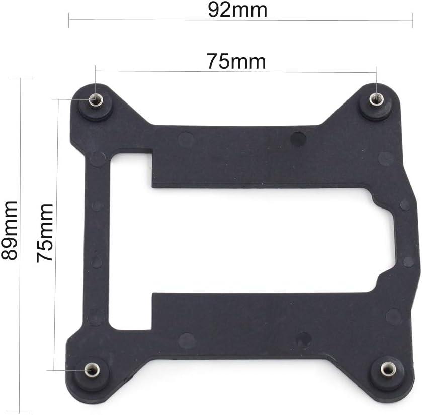 Plastic Backplate Socket Intel LGA 775 CPU Bracket Holder Cooler Radiators BaseS