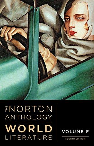 The Norton Anthology of World Literature (Fourth Edition)  (Vol. F)