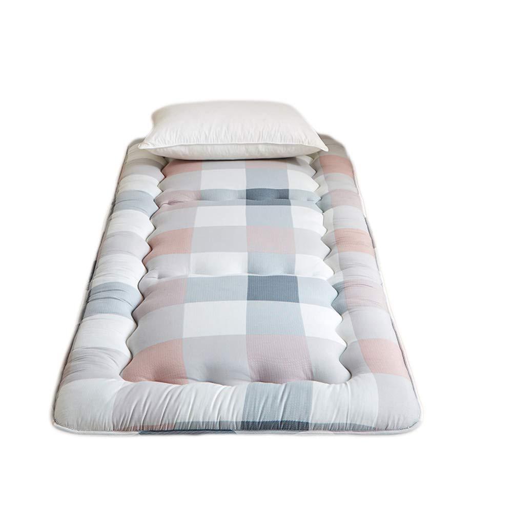 綿 厚い ハード コットン ベッド マットレス パッド マットマット 日本床布団のマットレス 学生 低 赤ちゃんアクティビティ マット - 8 cm-E 150x200x8cm B07GQSNJYB E 150x200x8cm