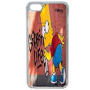 Lapinette COQUE-6-PLUS-BART - Funda para Apple iPhone 6 Plus/6s Plus, diseño Bart