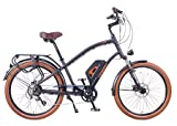 Cheap Leisger CD5 – Electric Crusier Style Bicycle – 350 Watt motor – Panasonic Battery 36V 13A – Black
