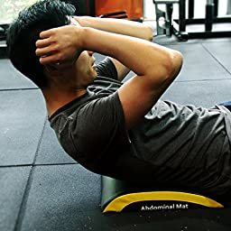 POWER GUIDANCE Ab Exercise Mat - Abdominal & Core Trainer Mat for Full Range of Motion Ab Workouts